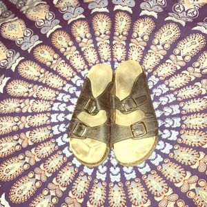 Birkenstock type sandal